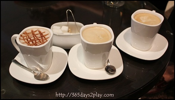 High Society - Cafe Latte and Hot Chocolate