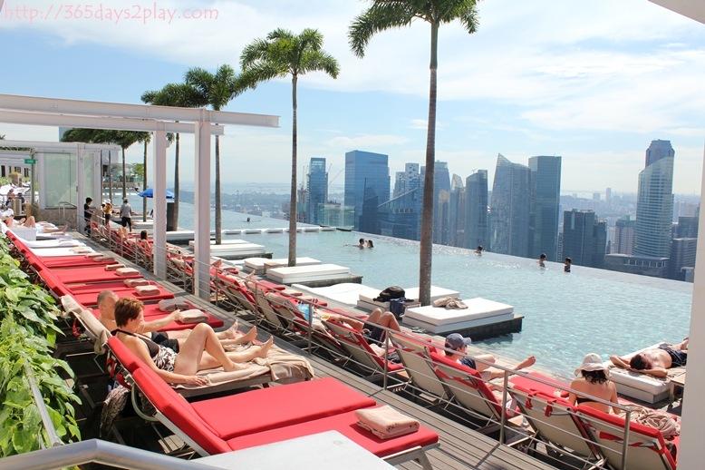 Marina bay sands skypark 365days2play fun food family - Marina bay sands infinity pool ...