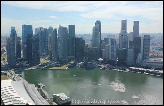 View from Marina Bay Sands SkyPark (2)