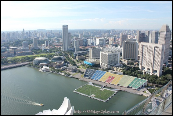 View from Marina Bay Sands SkyPark (5)