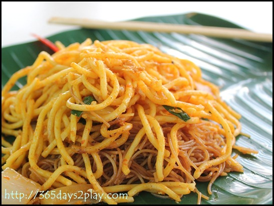 Breakfast Fried Yellow Mee
