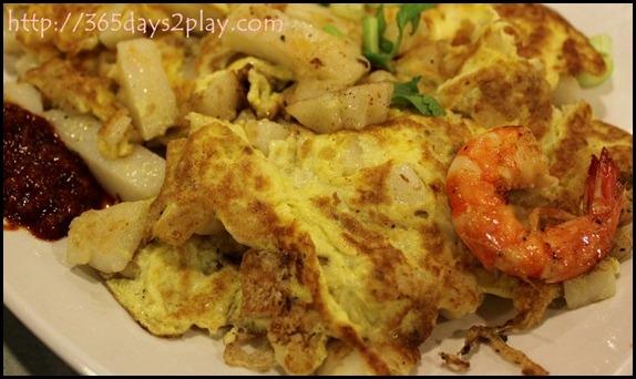 Changi Airport T3 Foodcourt - Carrot Cake