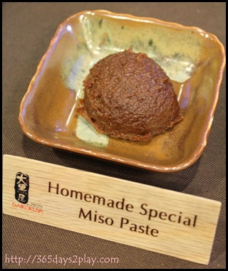 Daikokuya - Homemade Special Miso Paste