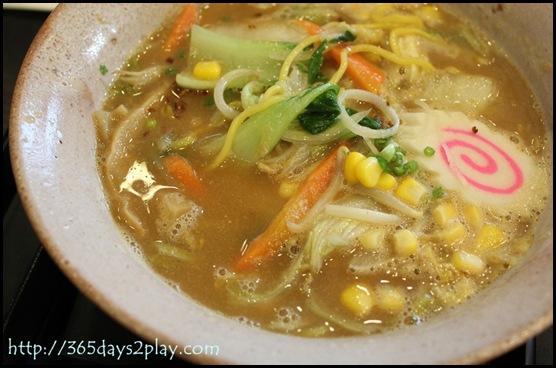 Daikokuya - Vegetable Miso Ramen