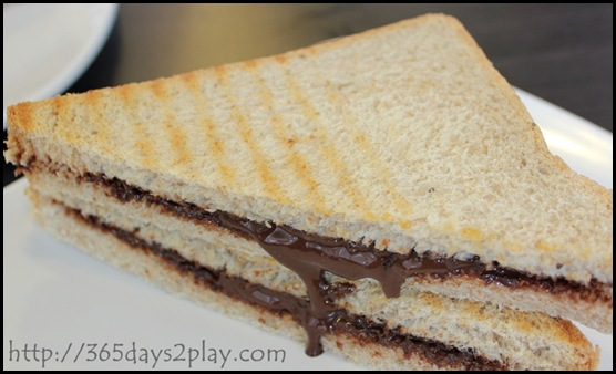 Dann's Daily - Chocolate Toastie