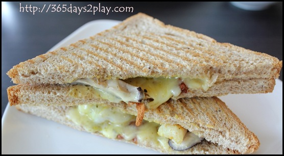 Dann's Daily - Prawn and Avocado Toastie