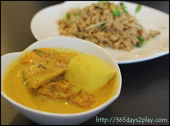 Dann's Daily - Vegetarian Curry with Wild Rice
