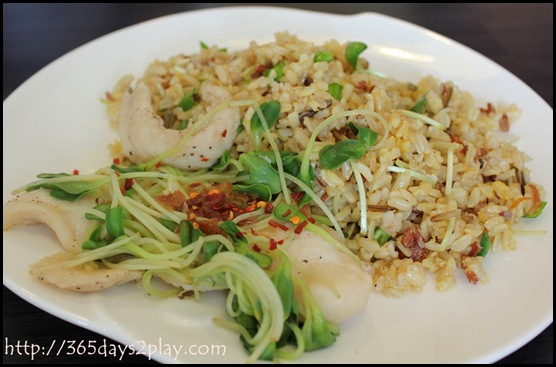 Dann's Daily - Wild Rice with Fish and Veggies