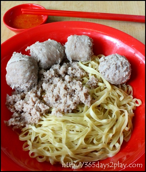 Gar Lok Eating House - Beef Ball Noodles