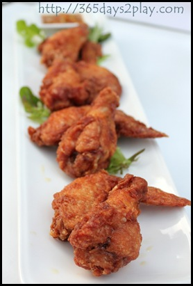 Hosted on the Patio - House Chicken Wings
