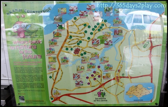 Kranji Countryside Map