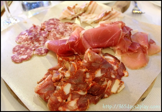 Pietra Santa - Mixed Platter of Traditional Italian Cold Cuts