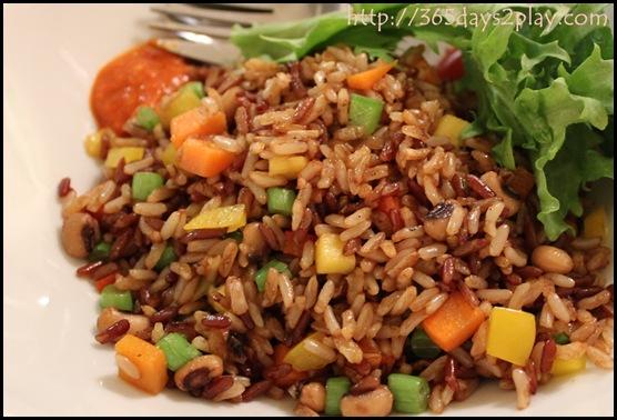 Real Food - Fried Brown Rice