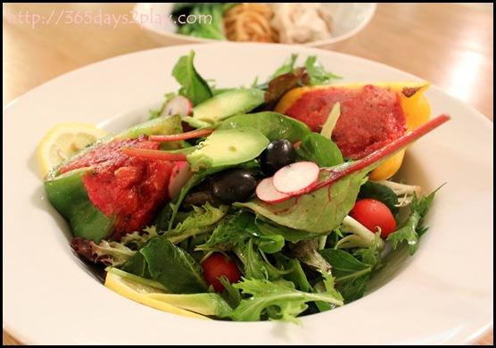 Real Food - Stuffed Veggie Salad