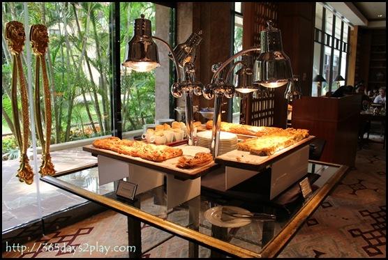 Regent Hotel Weekend Afternoon Tea - British Pies station