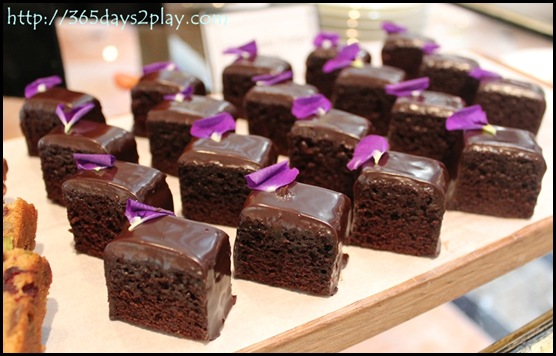 Regent Hotel Weekend Afternoon Tea - Chocolate brownies