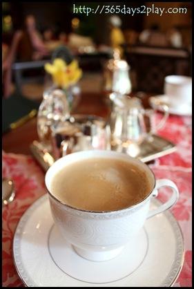 Regent Hotel Weekend Afternoon Tea - Cuppa tea for you sir