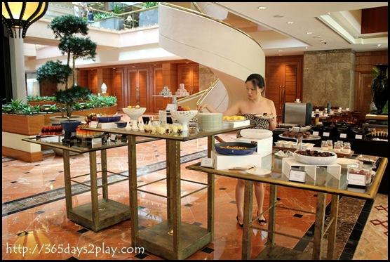 Regent Hotel Weekend Afternoon Tea - Dessert station