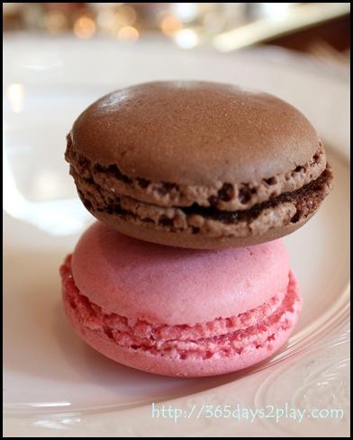 Regent Hotel Weekend Afternoon Tea - Macarons