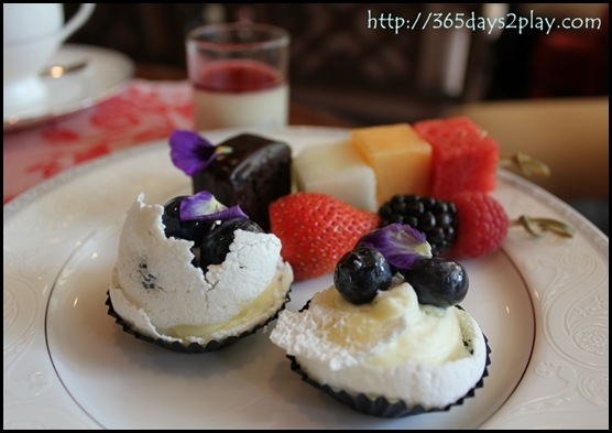 Regent Hotel Weekend Afternoon Tea - Mini Pavlovas
