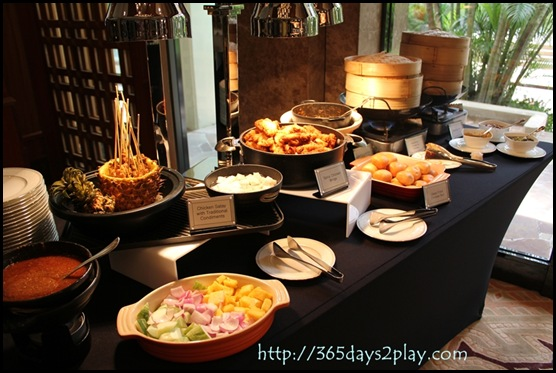 Regent Hotel Weekend Afternoon Tea - Satay and Crab Curry Mantou station
