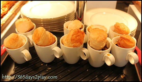 Regent Hotel Weekend Afternoon Tea - Stew Puffs