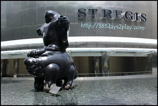 St Regis Hotel - Li Chen's Dragon Riding Bodhisattva