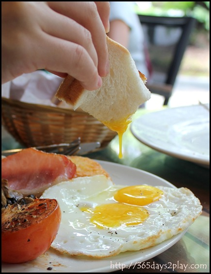 Casa Verde - Gourmet Breakfast with Sunny side Up (2)