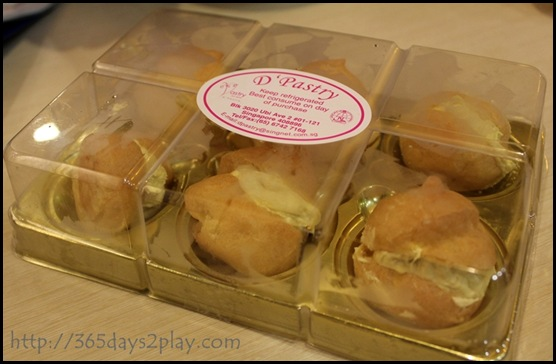 D'Pastry -Durian Puffs for $4 (2)