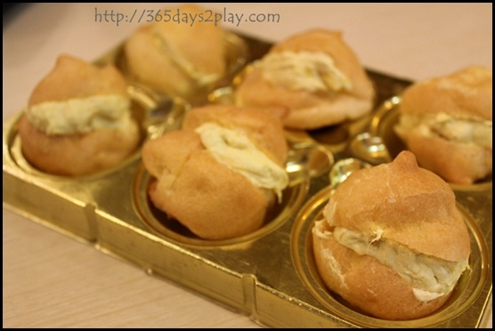 D'Pastry -Durian Puffs for $4