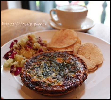 Group Therapy Coffee - Vegetable Quiche