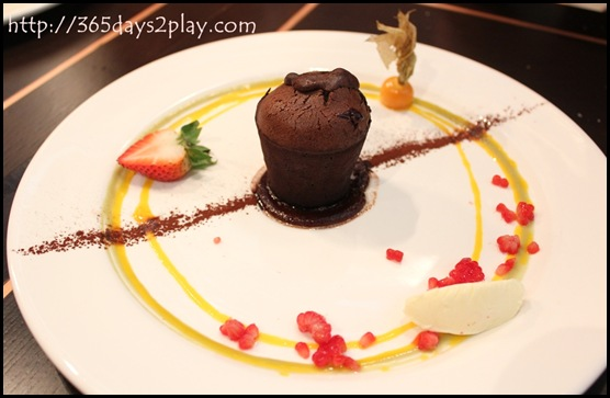 Level33 - Molten Chocolate Cake