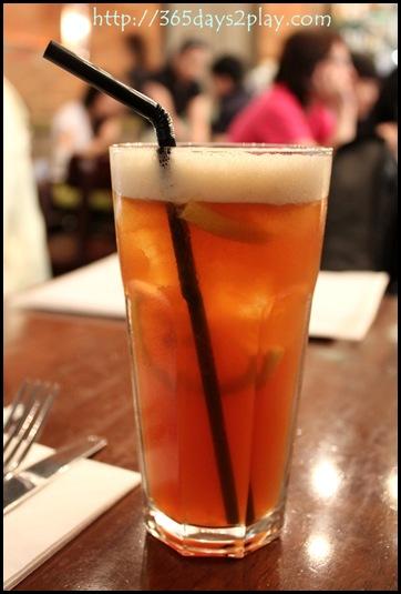 Oriole Cafe - Iced Lemon Tea