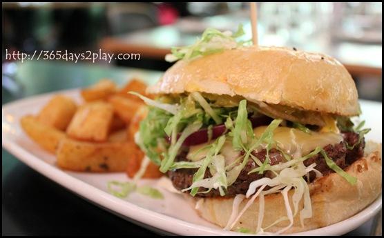 Spruce Signature Burger