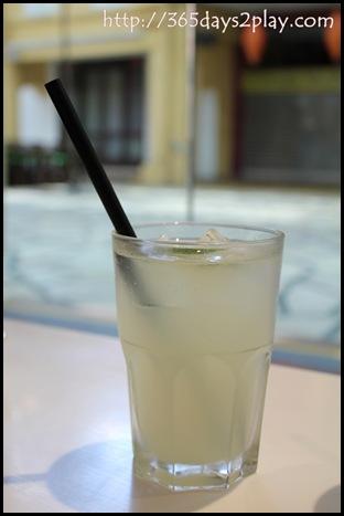 Garuda Padang Cuisine - Lime Soda