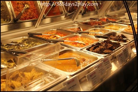 Garuda Padang Cuisine - Selection of dishes