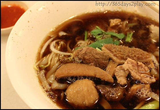 Hock Lam Beef - Original mixed beef kway teow with soup