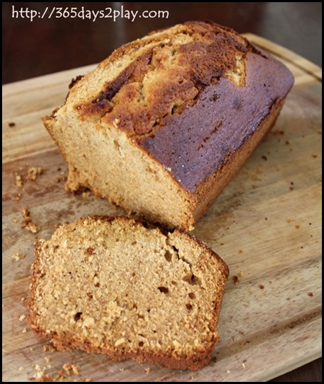 Honey Wholewheat Cake