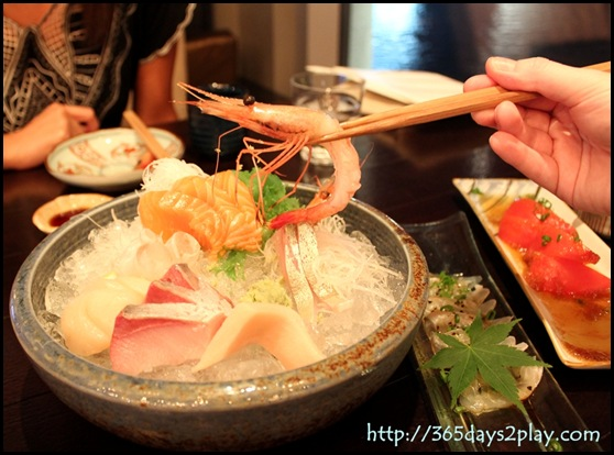 Kinki - Assorted Sashimi Platter (4)