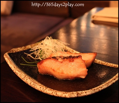 Kinki - Pomegranate Miso Black Cod (2)