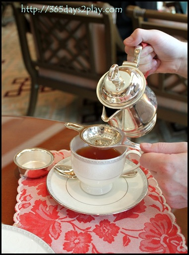 Regent Hotel Weekend Afternoon Tea - Cup of tea for you Madam