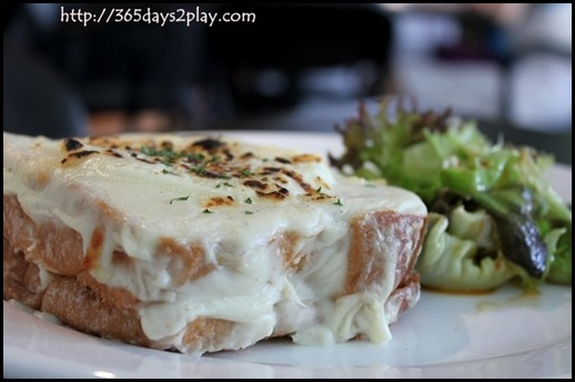 Blackbird Cafe - Croque Monsieur (2)