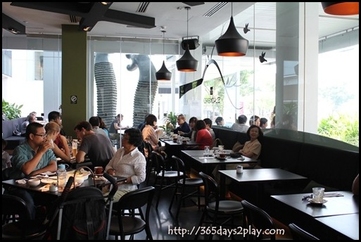 Blackbird Cafe - Main Seating Area