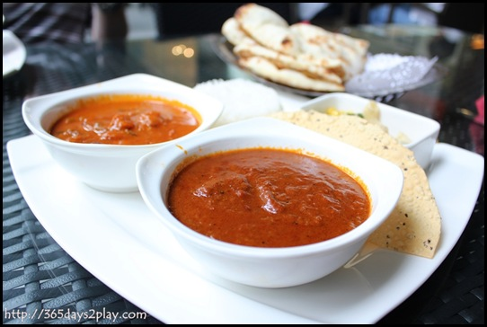 British Indian - Two Meat curry set lunch (2)