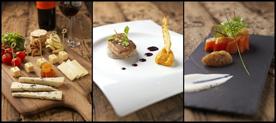 Chef's Selection of Cheese Board, Crackers, Balsamic Reduction, Dried Fruits-tile