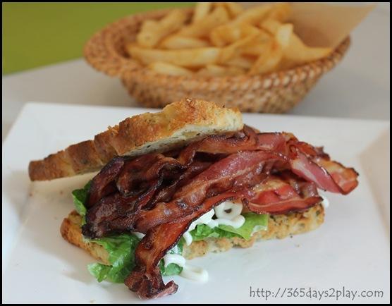 Hosted - Bacon Sandwich