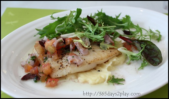 Hosted - Dory Fish with Mash