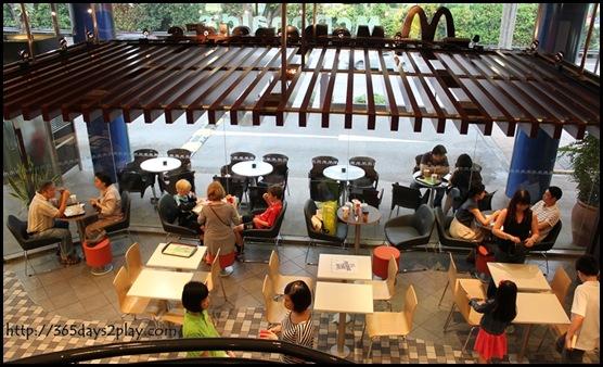 McDonald's - King Albert Park 1st Floor Seating Area