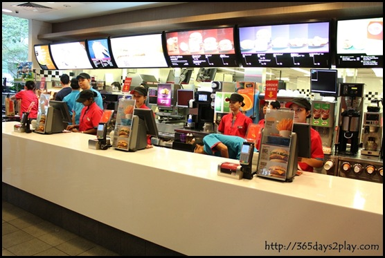 McDonald's - Ordering Counter