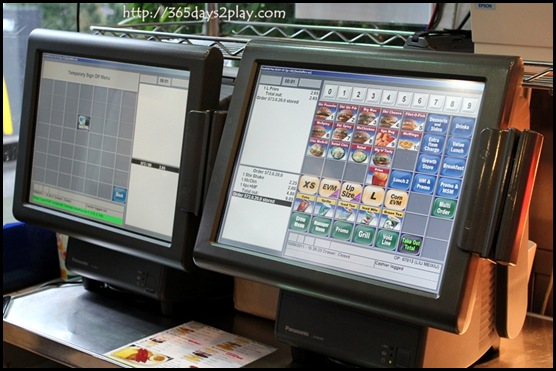 McDonald's - Ordering Touchpad